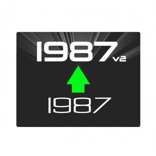 1987 upgrade da V1 a V2